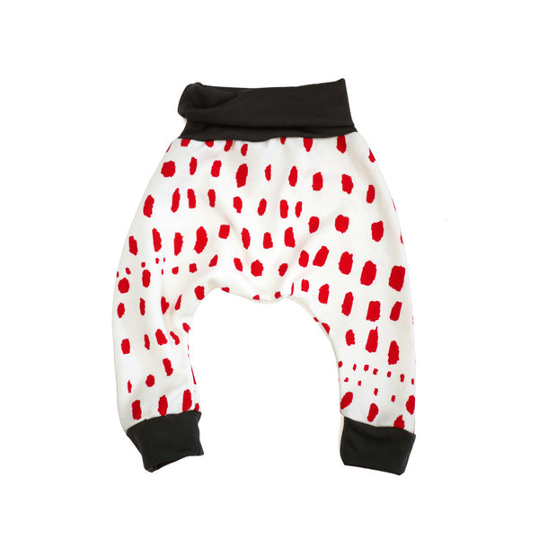 Red Patch Harem Pant