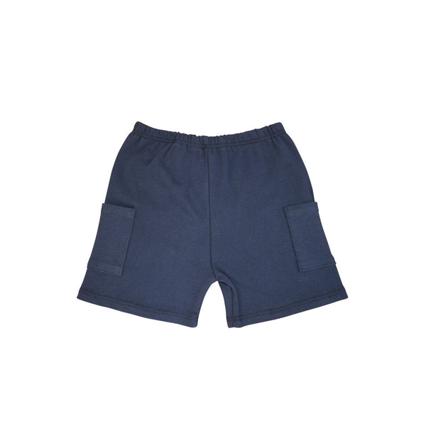 Navy Short with Pockets