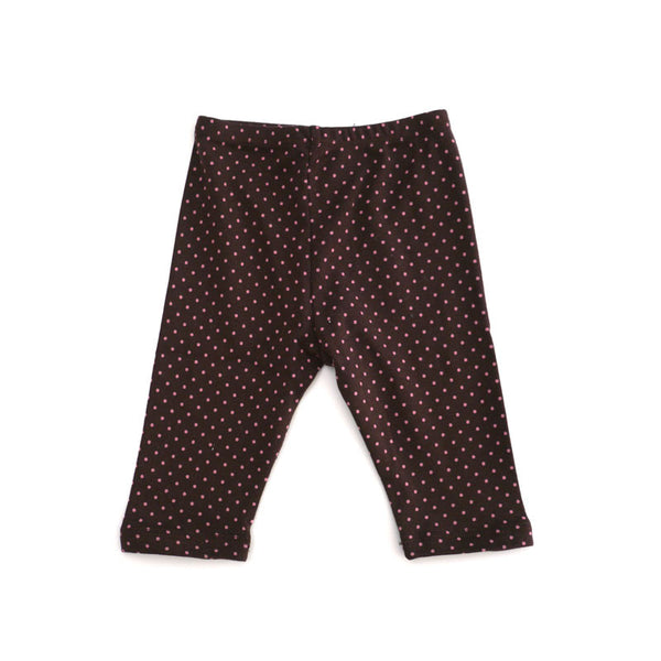 Pink Dot Brown Legging