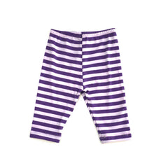 Purple Stripe Legging bottoms Kumquat