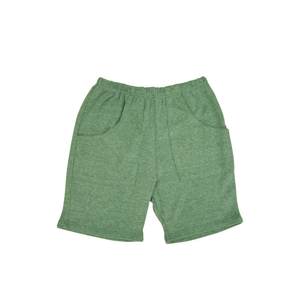 Olive Front Pocket Short