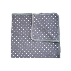 Grey Dot Blanket accessories Kumquat