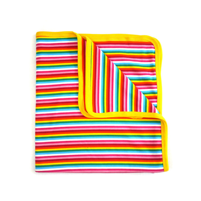 Rainbow Stripe Blanket