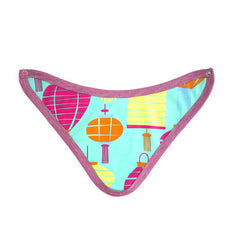 Lanterns Bandana Bib accessories Kumquat