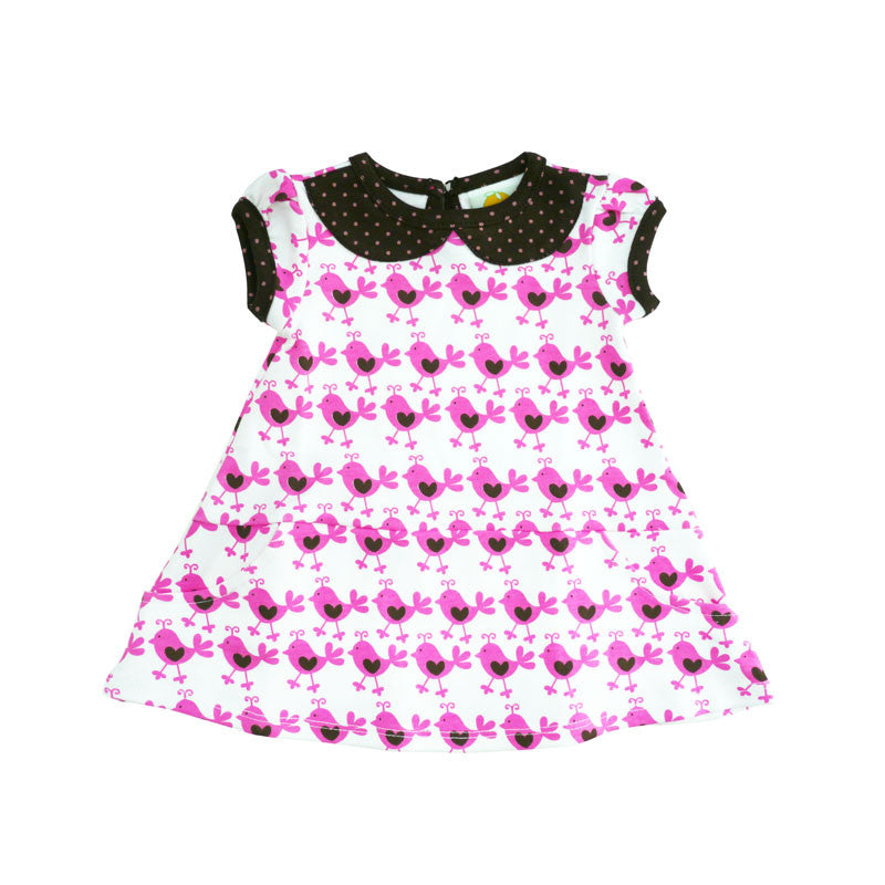 Pink Chicks Peter Pan Collar Dress dresses Kumquat