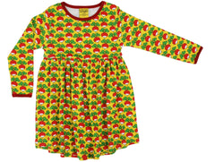 Yellow Radish l/s gathered skirt dress - last one! 3T