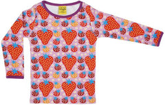 Strawberry Field l/s top