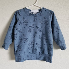 blue rockets sweatshirt