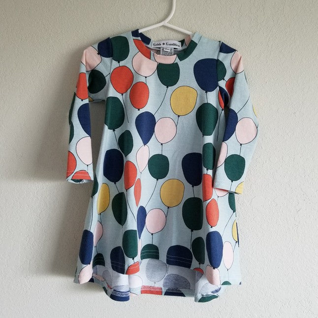 organic balloons t-shirt dress