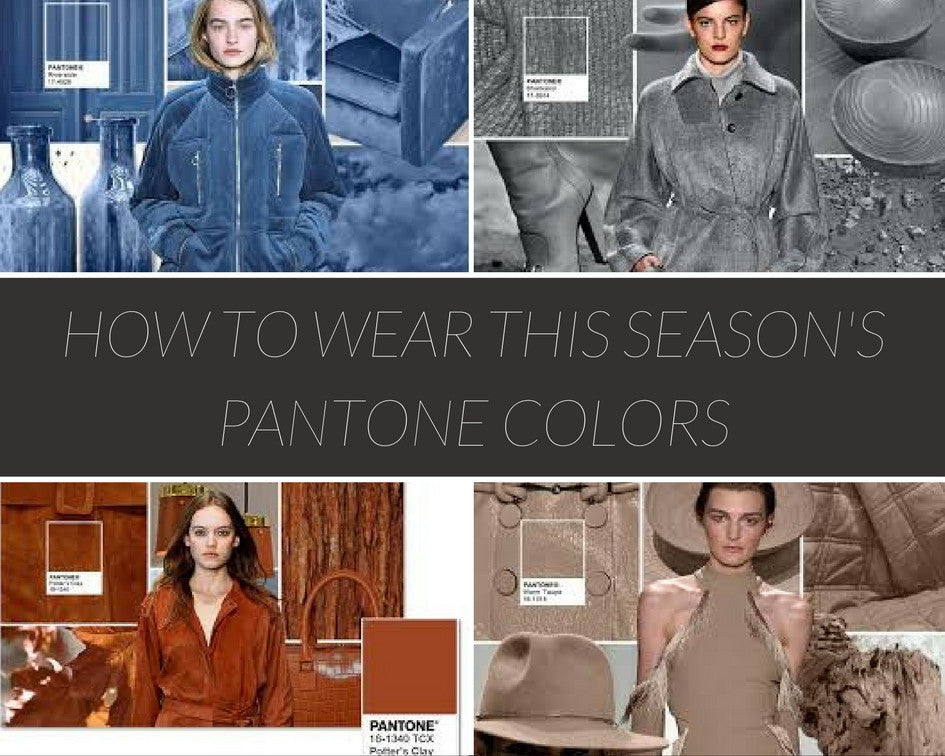 How To Wear This Season S Pantone Colors Lj Artisan Designs