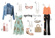 How to wear the Spring Floral Trend!