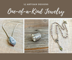 lj artisan designs one of a kind jewelry