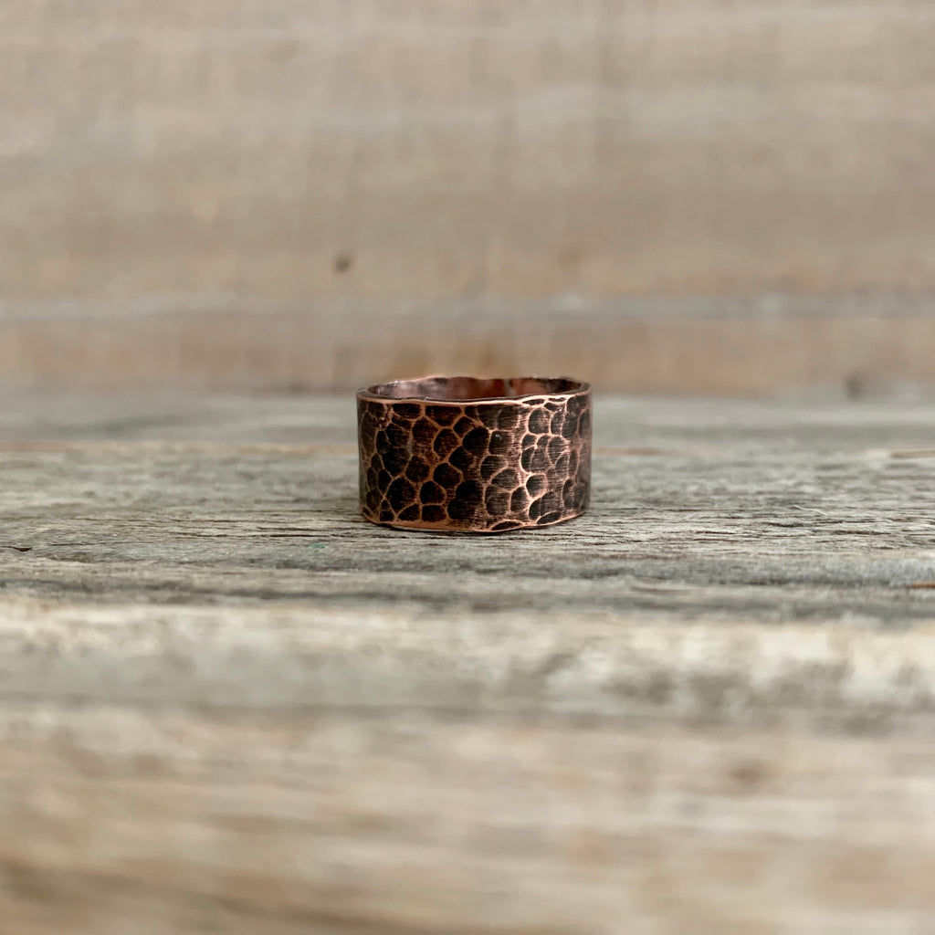 rustic style ring