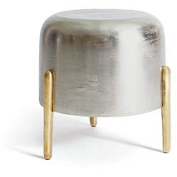Lauderdale Stool in Nickel