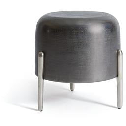 Lauderdale Stool in Black Nickel