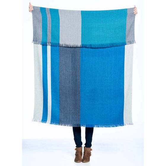 Blue Nile Throw