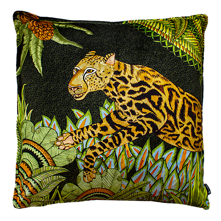 Cheetah Kings Jungle Delta Pillow