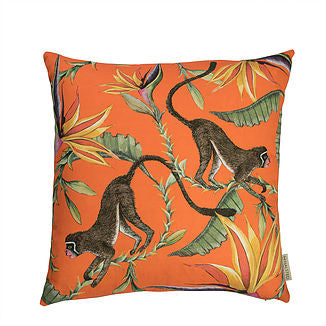 Monkey Paradise Pillow