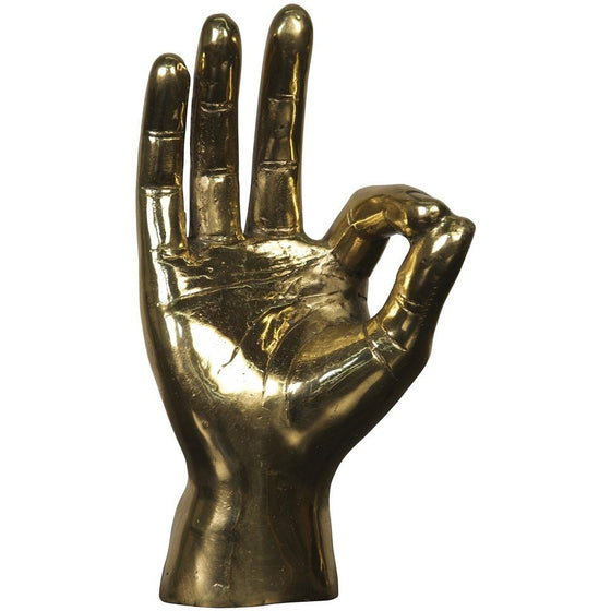 "Brass Hand ""OK Sign"""