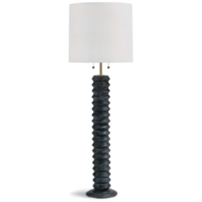 Accordian Floor Lamp