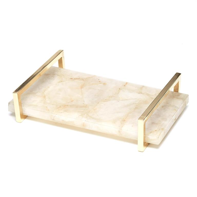 White Quartz Tray