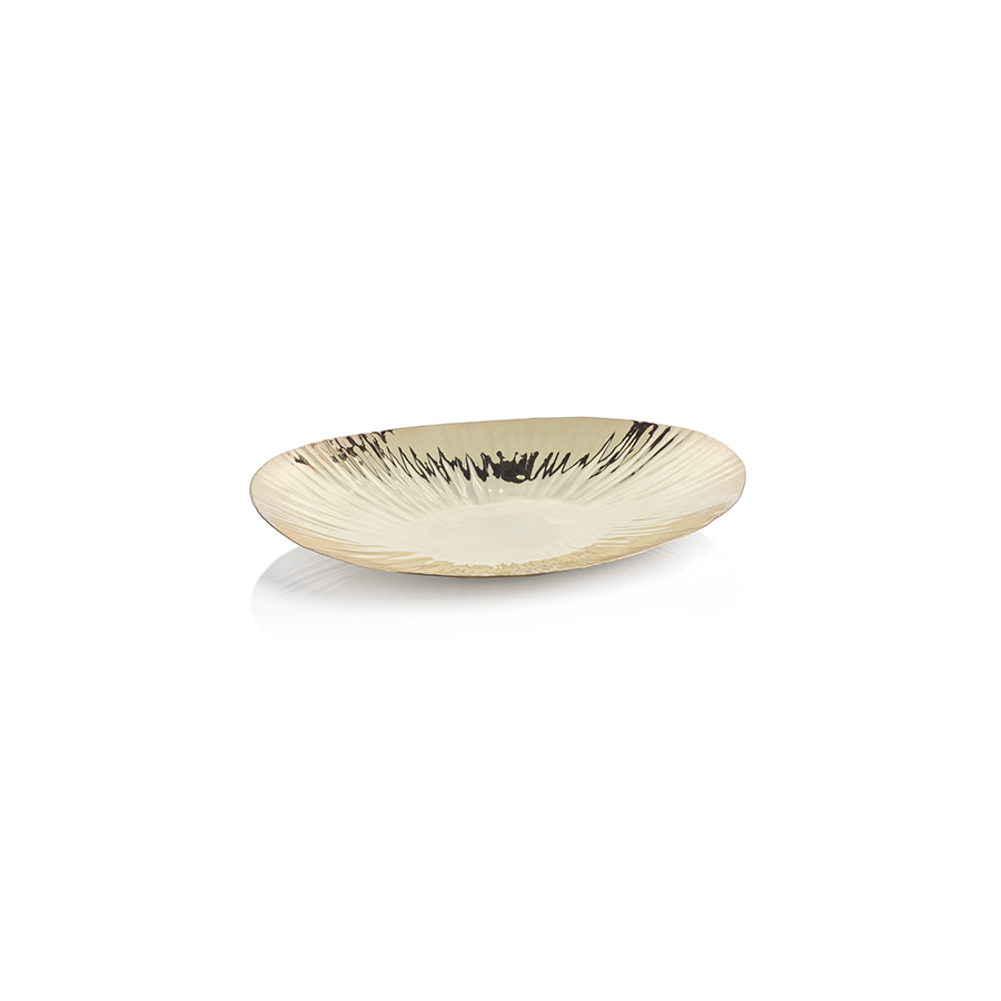Rippled Gold Tray Small