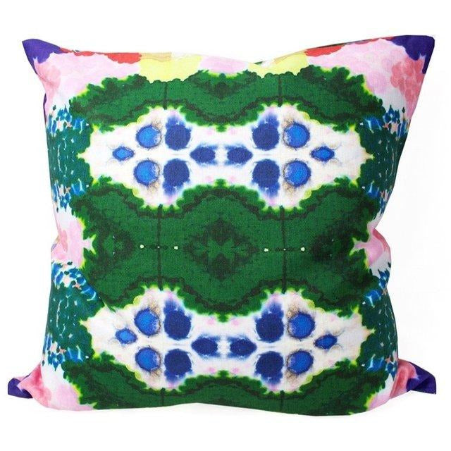 Colorful World Reversible Pillow