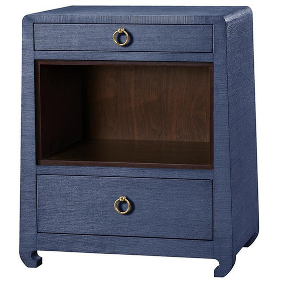 Ming 2 Drawer Side Table
