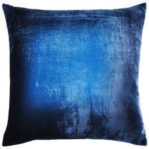 Cobalt Midnight Ombre Pillow