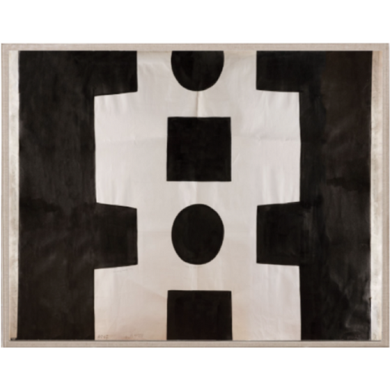 Paule Marrot - Black & White Abstract
