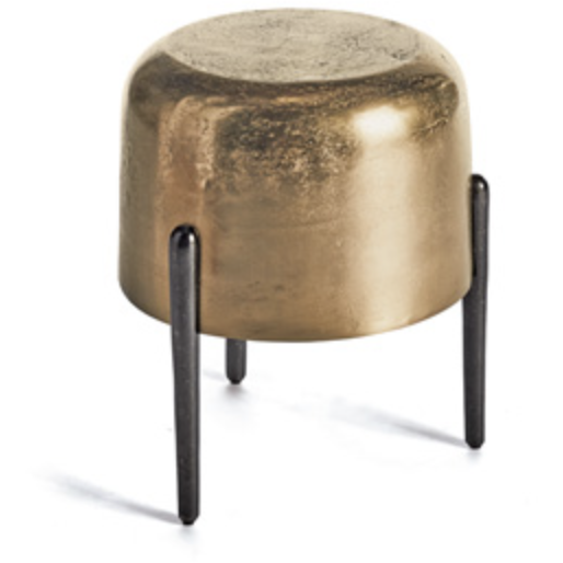 Lauderdale Stool in Gold