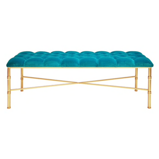 Stella Bench, Turquoise