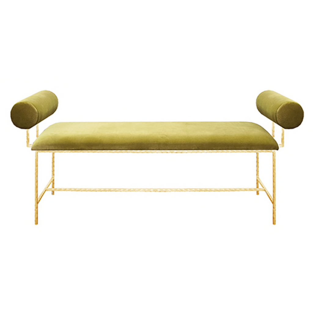 Miller Bench, Lime Green