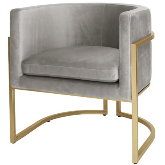 Jenna Chair, Grey