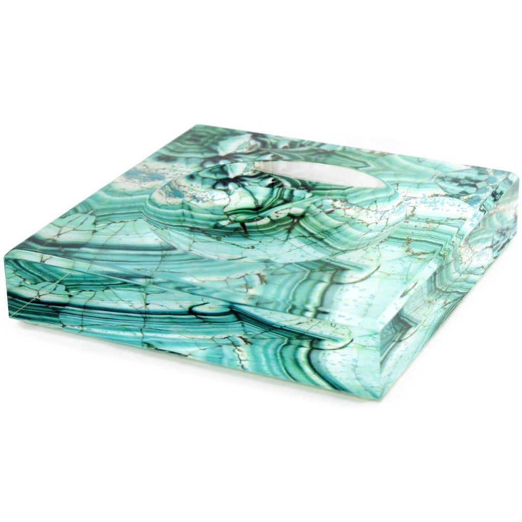 Trinket Bowl - Malachite