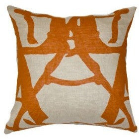 Twigs Rust Lounge Pillow