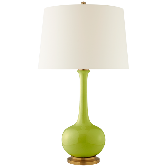 Coy Large Lamp in Lime