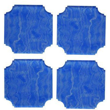 Coasters: Blue Agate