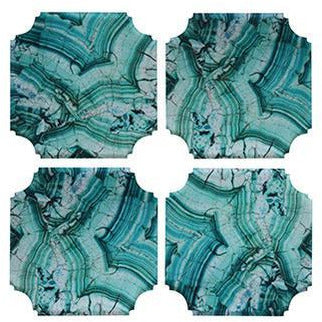 Coasters: Malachite
