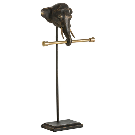 Elephant Guest Towel Holder