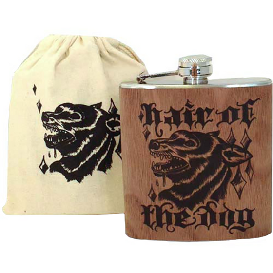 "Flask ""Hair of the Dog"""