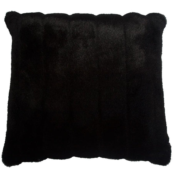 Black Mink Fur