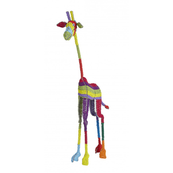 Medium Beaded Giraffe
