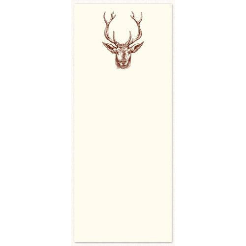 Long Notepad - Deer