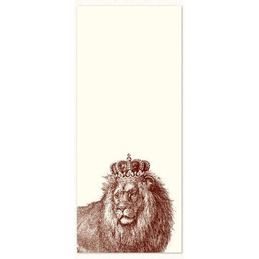 Long Notepad - King Kitty