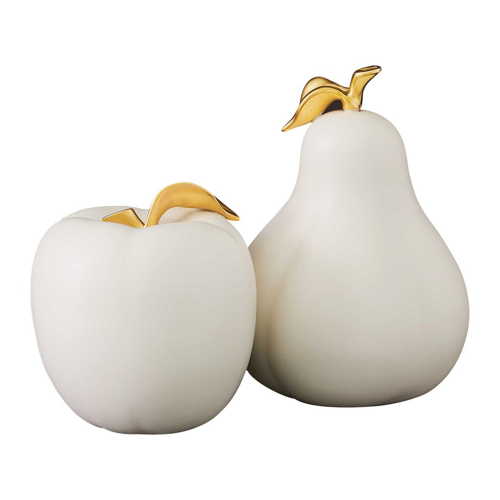 Apple and Pear Sculpture