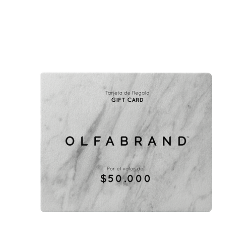 Tarjetas de Regalo Virtual Olfabrand™ (50, 100, 200 y 400)