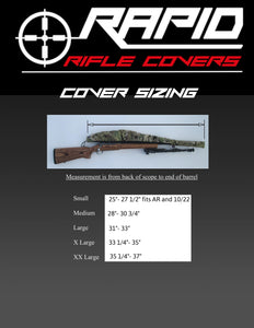 Rapid Rifle Cover – Coyote Brown