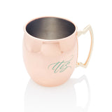 His Hers copper moscow mug set