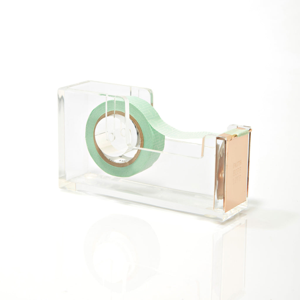 FAITH HOPE LOVE TAPE DISPENSER